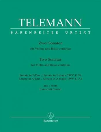 Two Sonatas: Violin And Basso Continuo