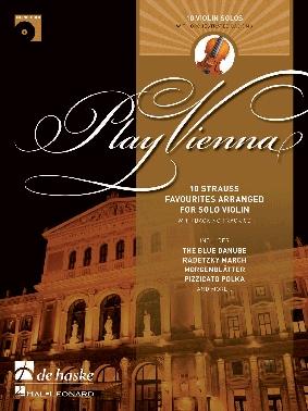Play Vienna: Violin: 10 Strauss Favourites Book & CD