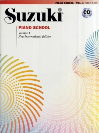 Suzuki Piano School Vol.1 Piano Book & Cd (Revised)