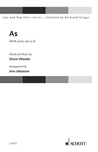 Stevie Wonder: As: SSATB And Piano: Jazz And Pop Choir Series