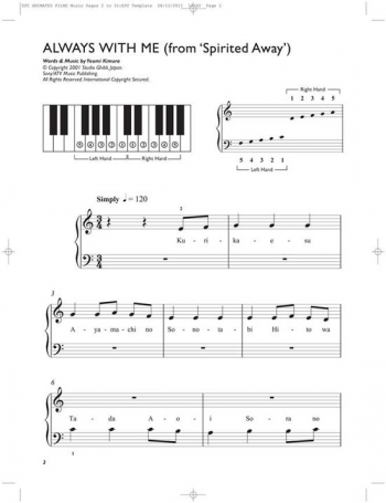 Easiest  5 Finger Piano Collection: Animated Film: 15 Hit Film Songs: Piano