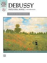Preludes: Book 1:  Piano Bk& Cd (Alfred)