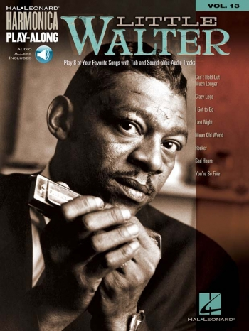 Harmonica Play-Along Volume 13: Little Walter: Bk&CD