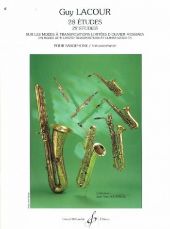 28 Etudes On Modes Of Messiaen: Saxophone