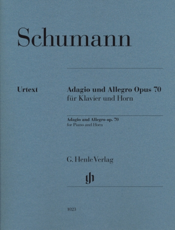 Adagio And Allegro: Op 70: French Horn & Piano