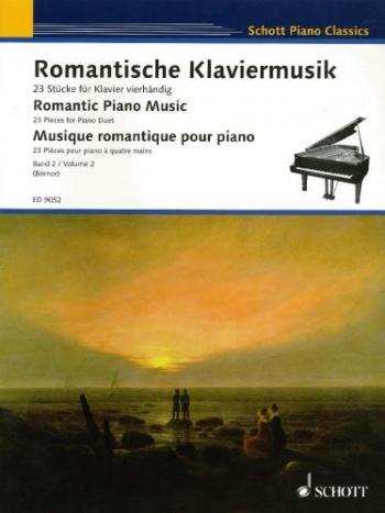 Romantic Piano Music: Vol 2: 23 Pieces For  Piano Duet