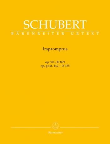 Impromptus: OP.90 D899 & D935: Piano (new Ed.)