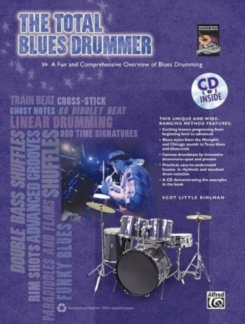 Total Blues Drummer: Bk&cd