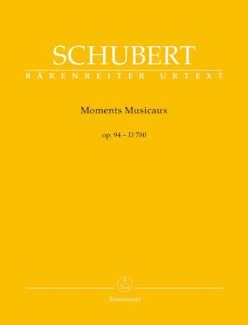 Moments Musicaux: D780 Op94: Piano (Barenreiter)