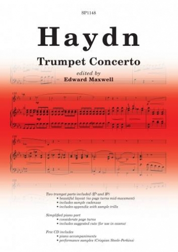 Trumpet Concerto: Trumpet And Piano: Book And Cd