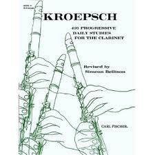 416 Progressive Daily Studies: Book 3: 40 Exercises: Clarinet