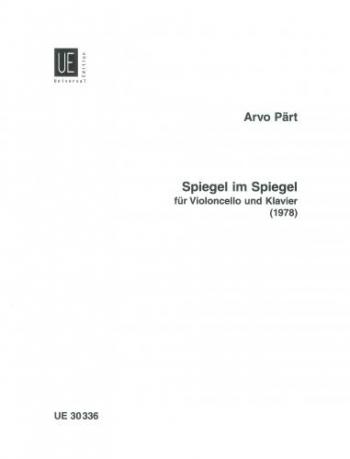 Spiegel Im Spiegel: Cello & Piano (1978) (Universal)