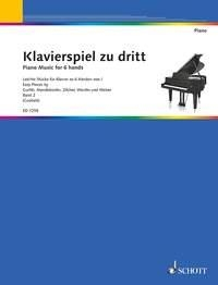 Klavierspiel Zu Dritt Band 2: Piano Music For 6 Hands