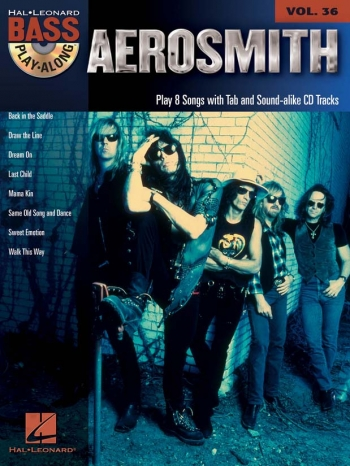 Bass Play-Along: Vol. 36: Aerosmith