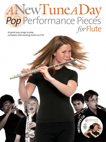 New Tune A Day Flute: Pop Performance Pieces For Flute: Book & Cd