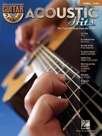 Guitar Play Along Series: Vol 141: Acoustic Hits Guitar: Bk&cd