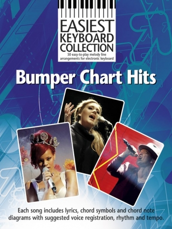 Easiest Keyboard Collection Bumper Chart Hits: Keyboard