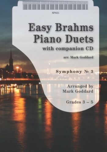 Easy Brahms Piano Duets: Symphony No. 3