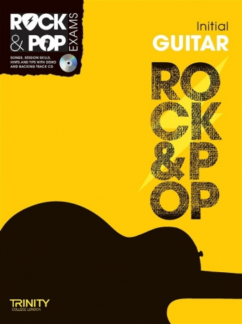 Rock & Pop Exams: Guitar Grade Initial: Book & Cd (Trinity)