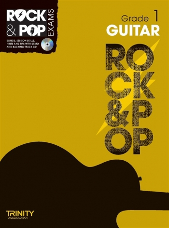 Rock & Pop Exams: Guitar Grade 1: Book & Cd (Trinity)