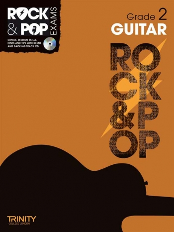 Rock & Pop Exams: Guitar Grade 2: Book & Cd (Trinity)