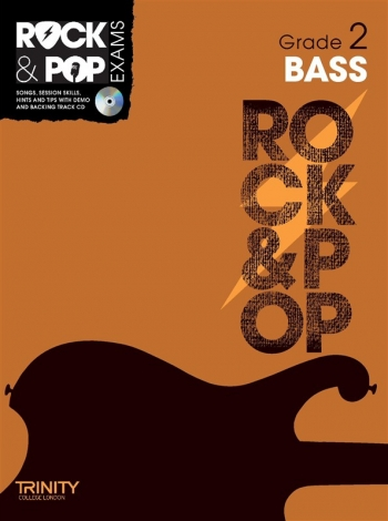 Rock & Pop Exams: Bass Guitar Grade 2: Book & CD (Trinity)