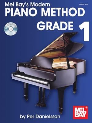Mel Bay Modern Piano Method: Grade 1: Book & Cd