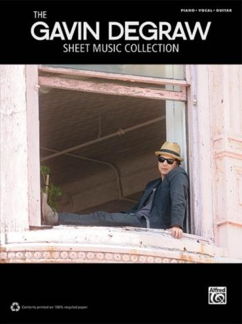 Gavin Degraw Sheet Music Collection: Piano Vocal Guitar