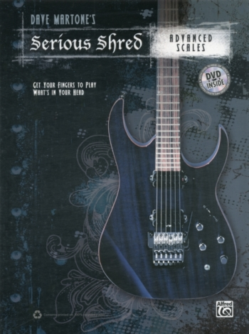 Serious Shred: Advanced Scales: Book & Dvd