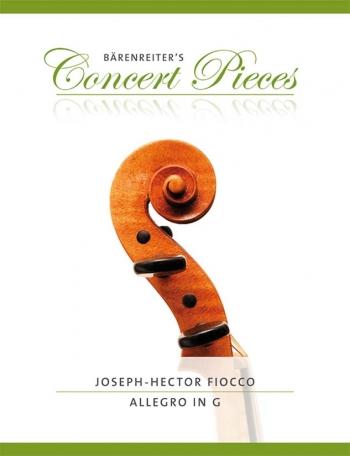 Allegro G Major: Violin & Piano (Barenreiter)