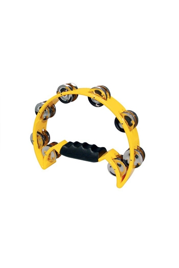 Tambourine 1/2 Moon - Yellow (Hayman)