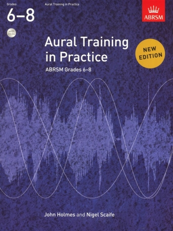 ABRSM Aural Training In Practice Grades 6-8: Book & 3Cds