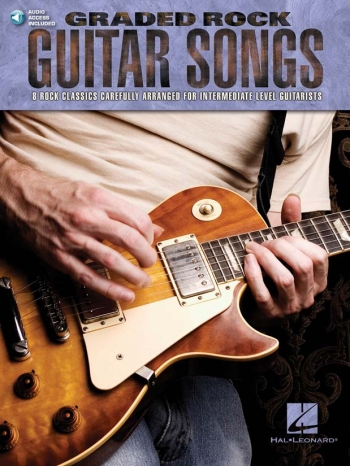 Graded Rock Guitar Songs; Bk & Cd
