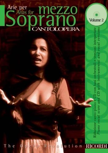 Various: Arias For Mezzo Soprano Vol2 (Cantolopera) Mezzo Soprano Voice And Piano: Book & Cd