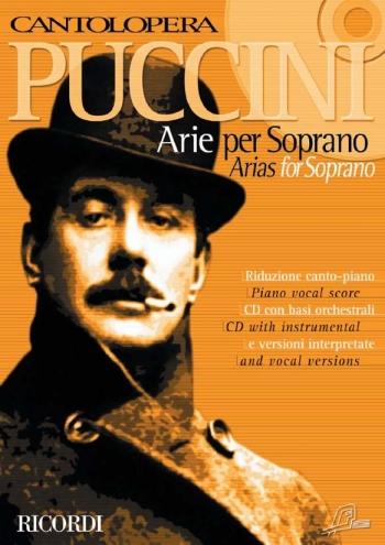 Cantolopera: Arias For Soprano Vol 1: Voice And Piano: Book & Cd