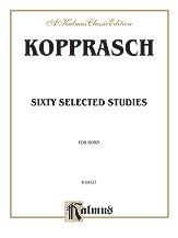 60 Selected Studies: French Horn  (Kalmus)