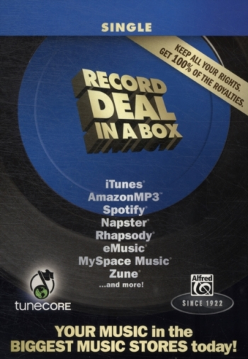 Record Deal In A Box: Single Edition: Text Book & Recording Software