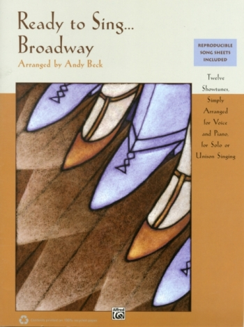 Ready To Sing... Broadway: Book Only