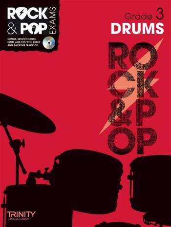 Rock & Pop Exams: Drums Grade 3: Book & Cd (Trinity)