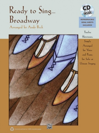 Ready To Sing... Broadway: Book And Cd