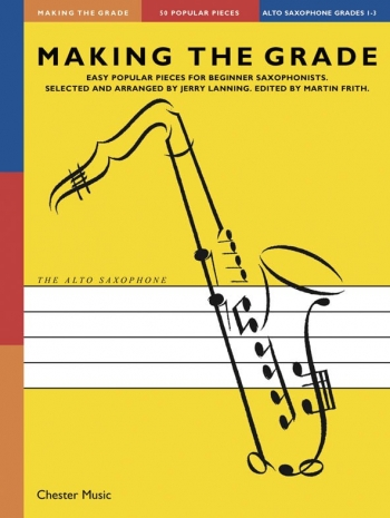 Making The Grade 1-3: Alto Sax & Piano