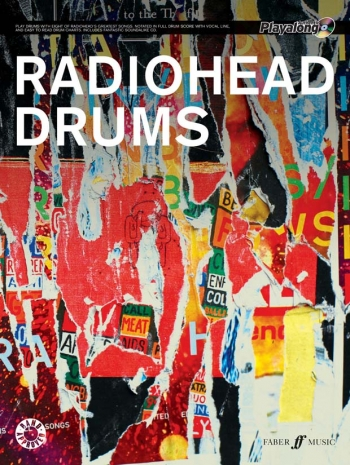 Playalong Authenitc Radiohead Drums
