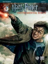 Harry Potter Complete Film Series: Tenor Sax:  Book And Cd