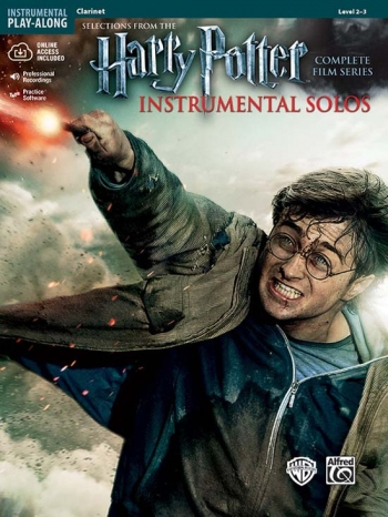Harry Potter Complete Film Series: Clarinet: Book And Cd