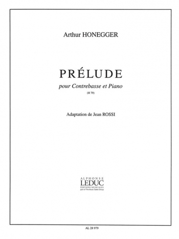 Prelude: Doubel Bass And Piano