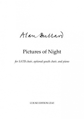 Pictures Of Night: Vocal: SATB & Piano
