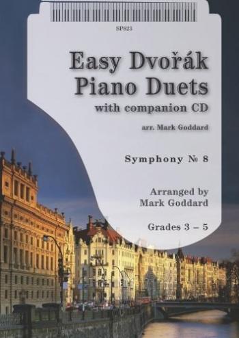 Easy Dvorak Piano Duets: Symphony No. 8