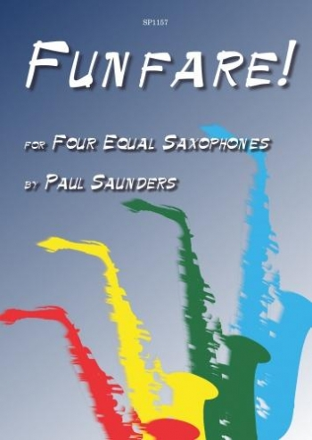 Funfare: For Four Equal Saxophones