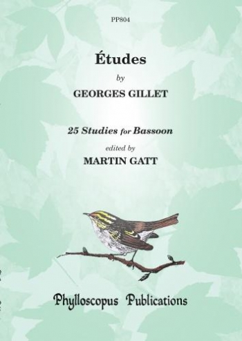 Etudes By Georges Gillet: 25 Studies For Bassoon