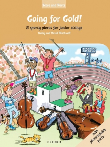 Going For Gold: 5 Sporty Pieces: Junior Stringd: Parts And Score